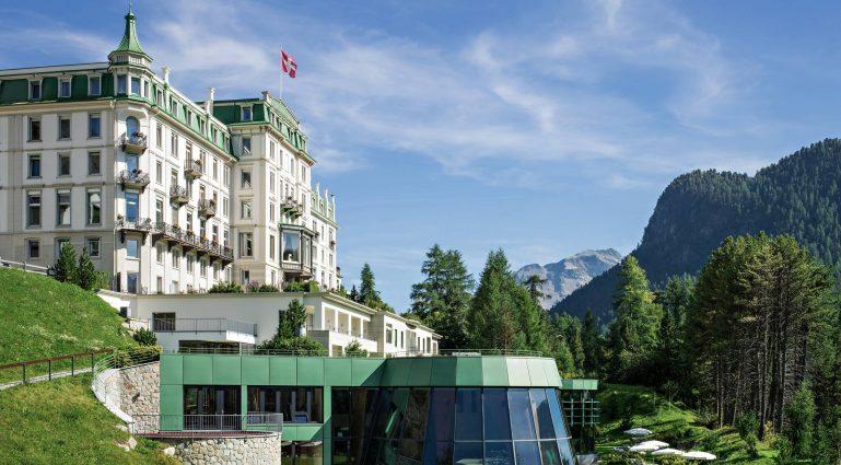 Grand Hotel Kronenhof_Aussenansicht Sommer_2